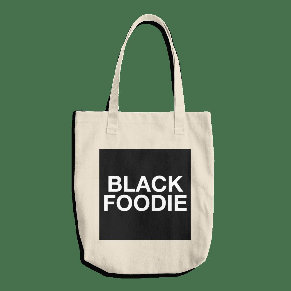 Image of BLACK FOODIE Tote Bag
