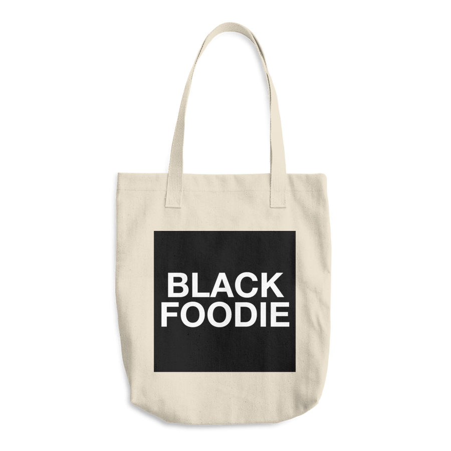 Image of BLACK FOODIE Tote Bag