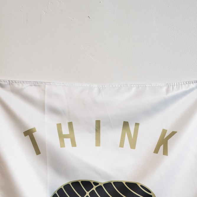 Image of Think Twice Flag