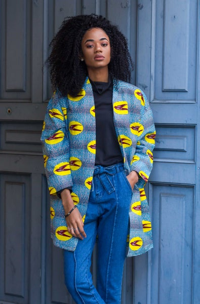 Image of Kimono Yellow Birds 30% OFF