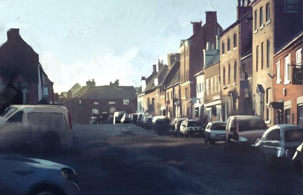 Image of Tutbury High Street