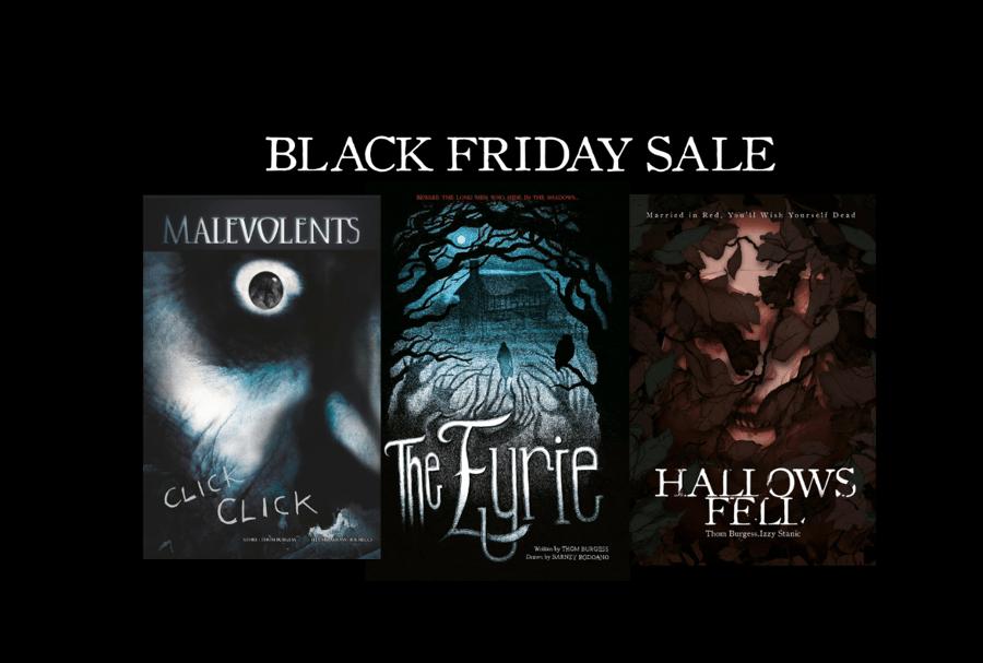 Image of Black Friday Black Envelope Sale
