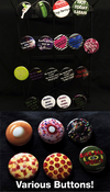 Image of Various Buttons - COMING BACK SOON!