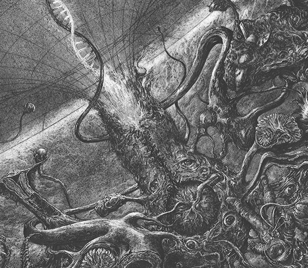 Image of EXECRATION Limited artprint