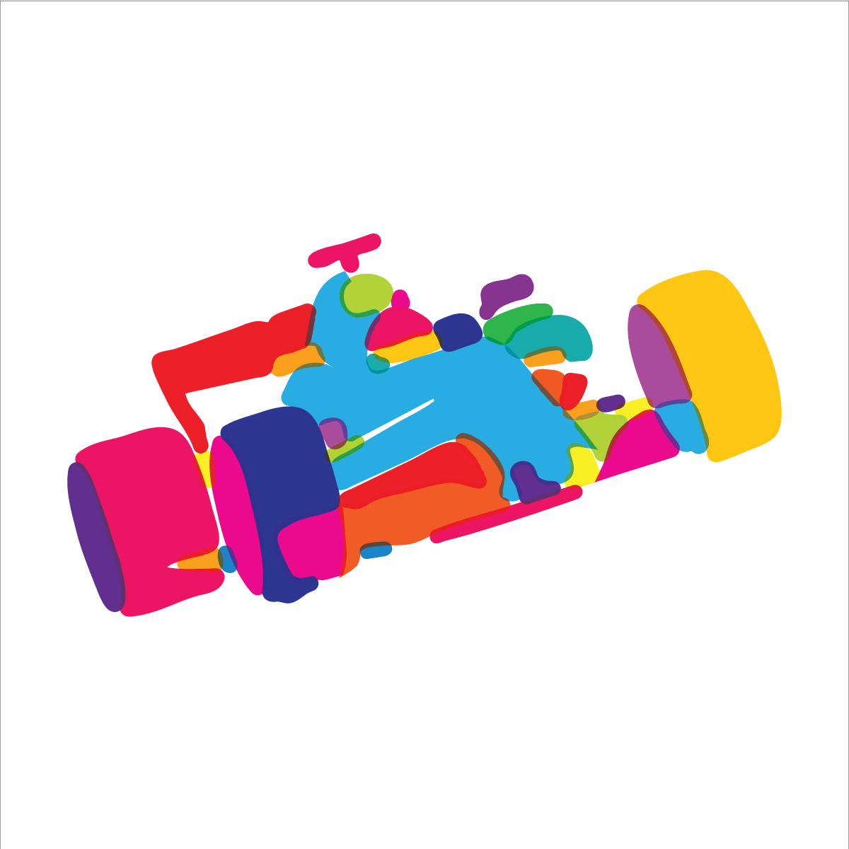 Image of F1 racer