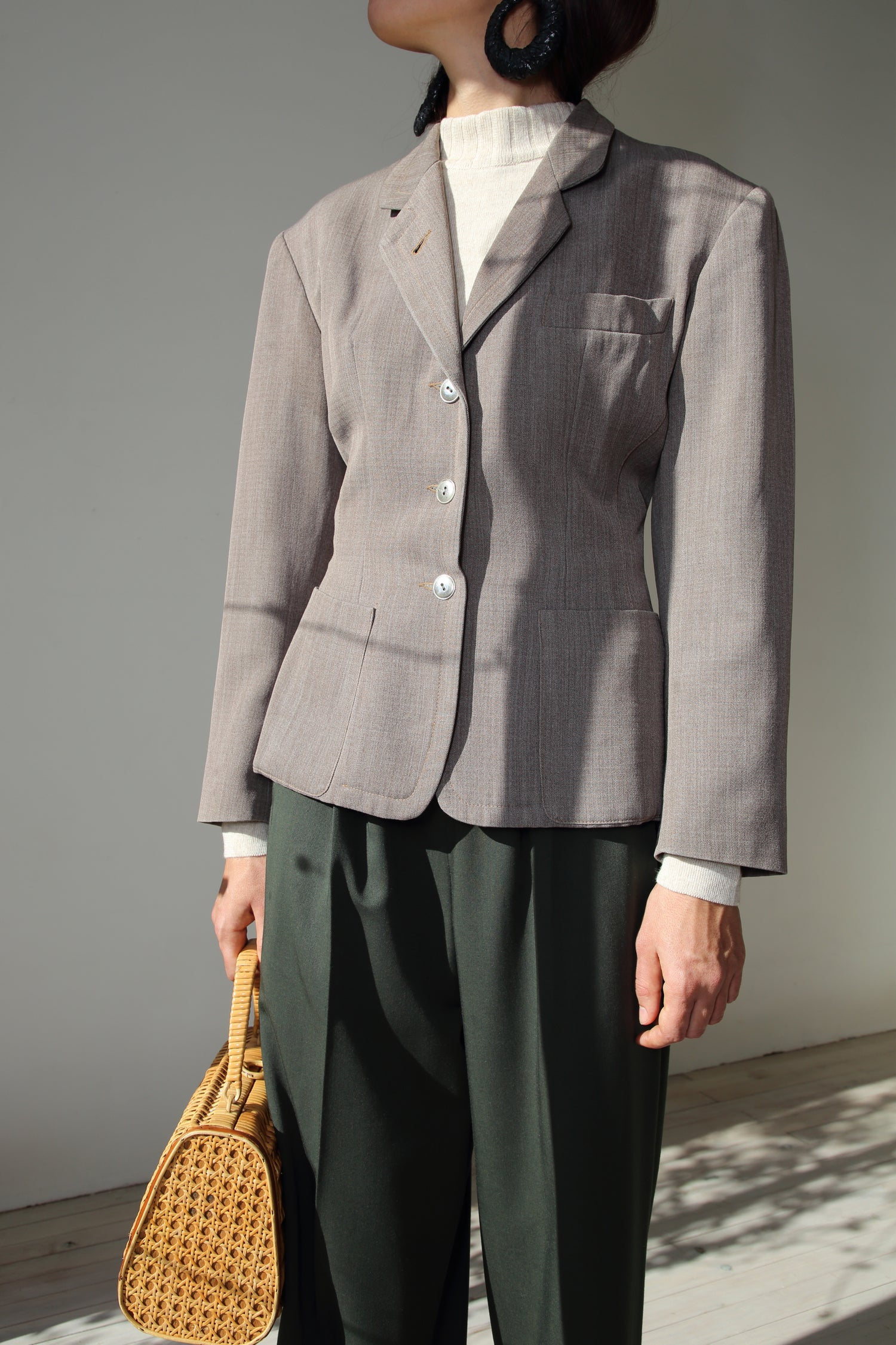 Image of J.P Gaultier brown jacket