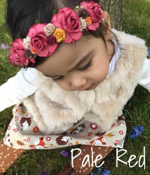 Image of RED BASED HEADBANDS