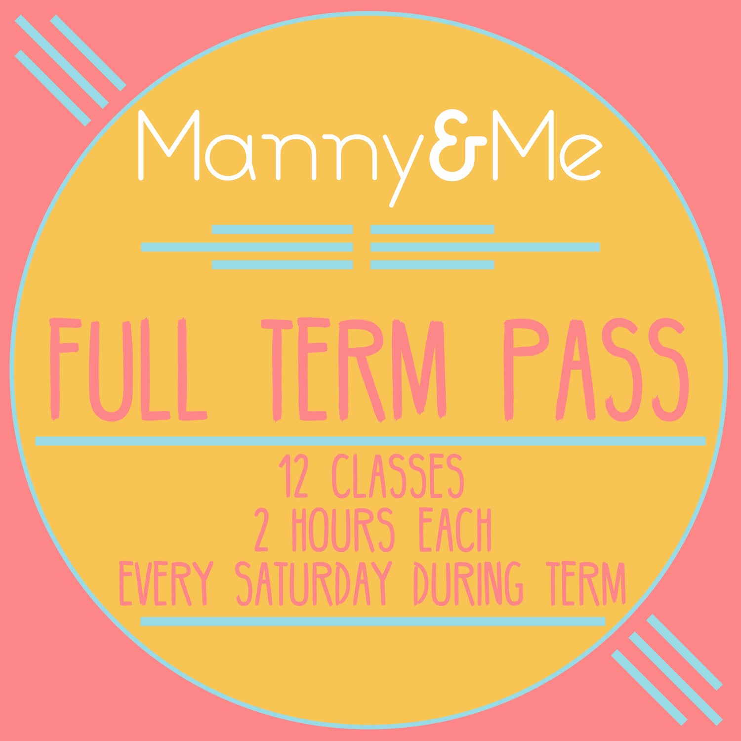 Image of Full Term Class Pass (£33 PER HOUR)
