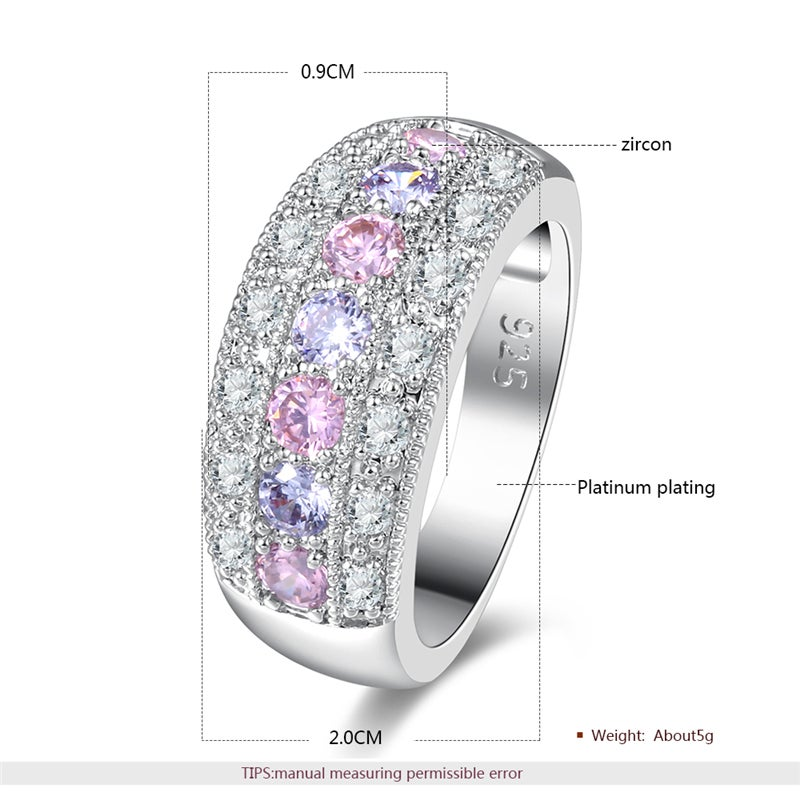 Image of Cosmos Ring (Platinum Plated)