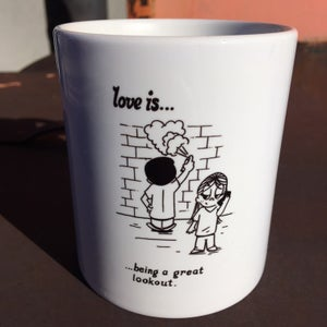 Image of Love Is Lookout Mug