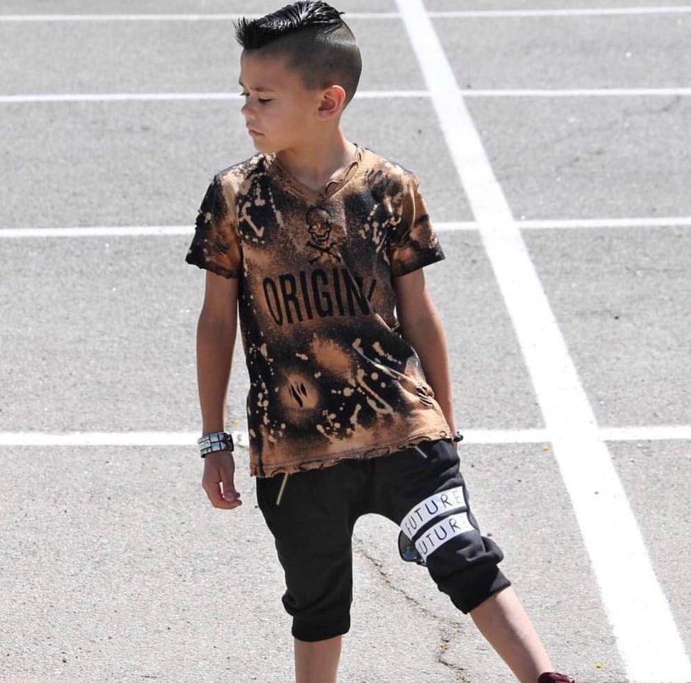 Image of HI Future Black Harem  Shorts
