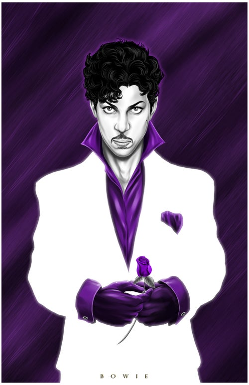 Image of PRINCE- PURPLE REIGN