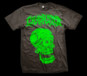 Image of CHAORDICA SKULLCLOPS SHIRT GREEN