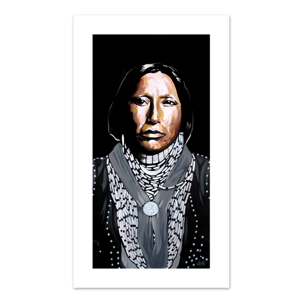 Image of Enoch Hoag - Caddo Chief Print