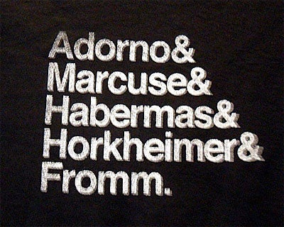 Image of Frankfurt School shirt