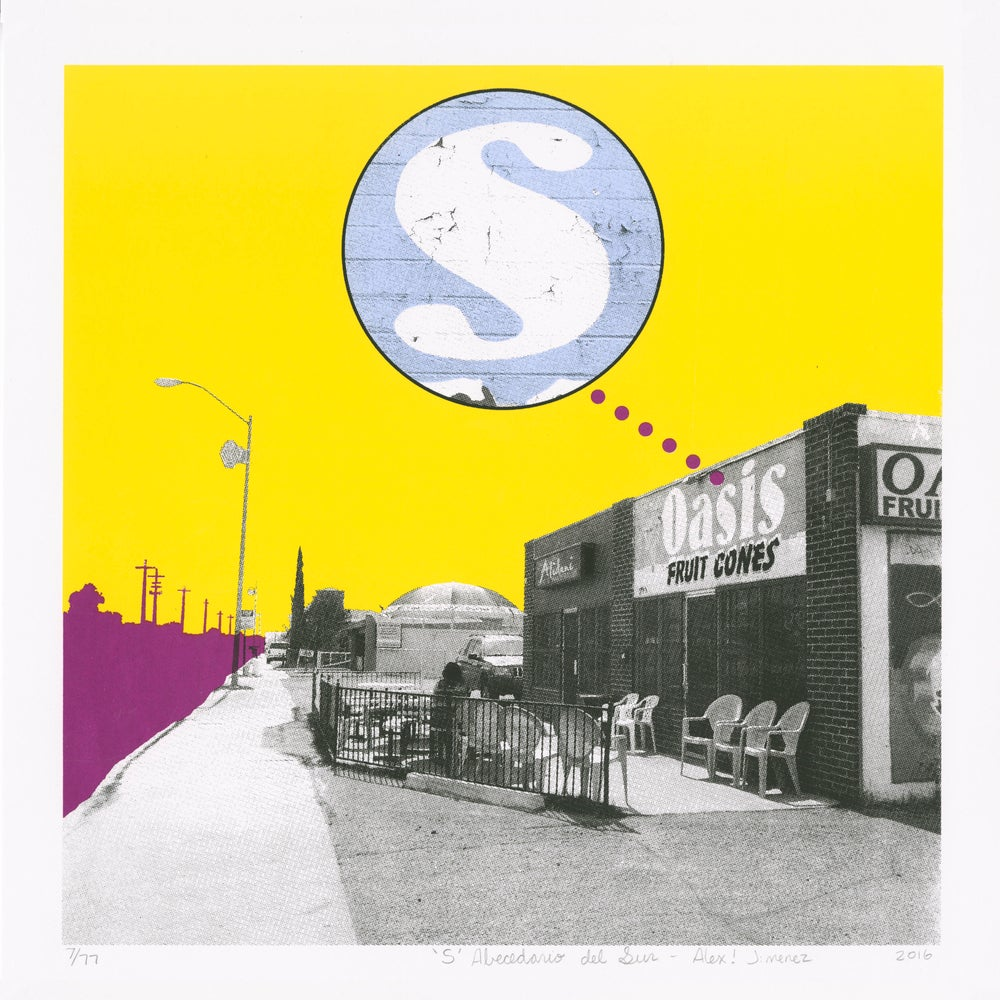 Image of S is for Oasis Fruit Cones
