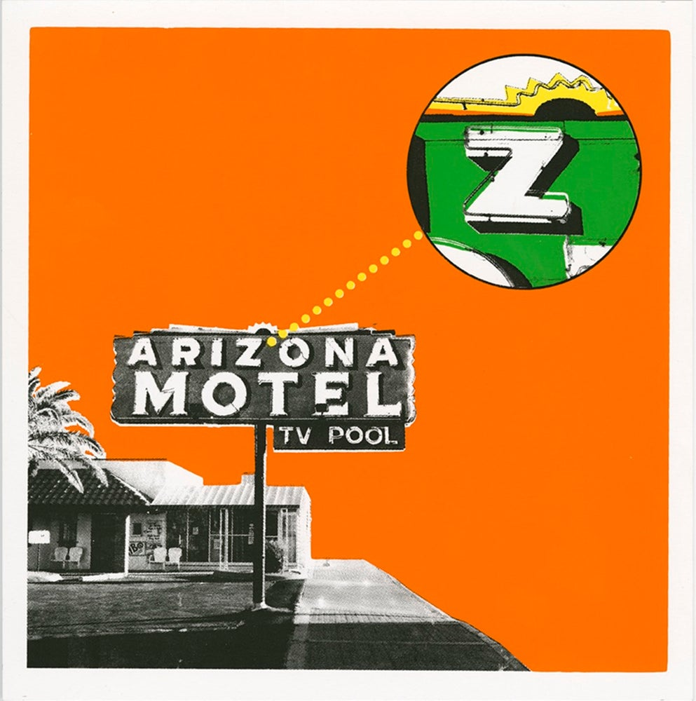 Image of Z is for Arizona Motel