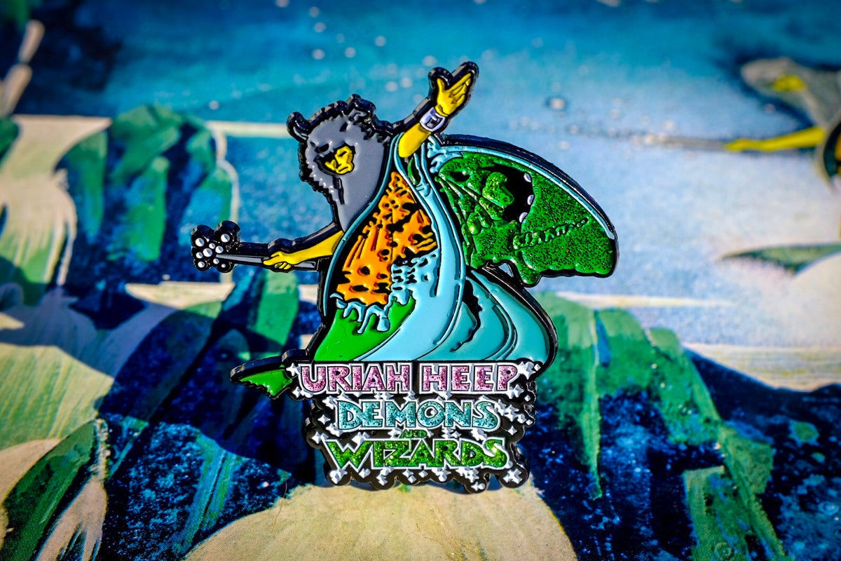 Image of Uriah Heep - Demons & Wizards Enamel Pin