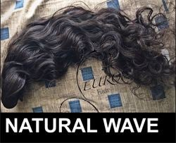 Image of NATURAL WAVE INDIAN HAIR EXTENSIONS
