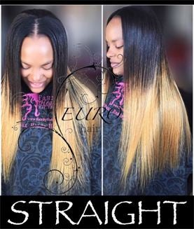 Image of STRAIGHT INDIAN HAIR EXTENSIONS.
