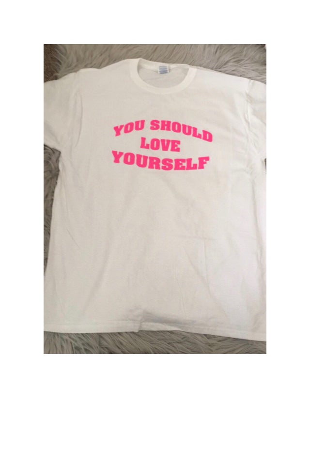 Image of You should love yourself top