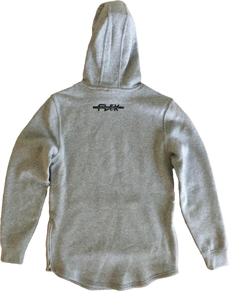 Image of Flex side zipper hoodie