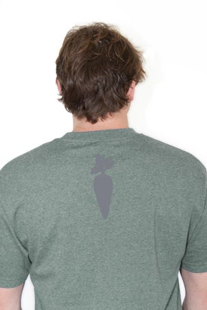 Image of Heather Green - Unisex/Mens Short Sleeve Shirt