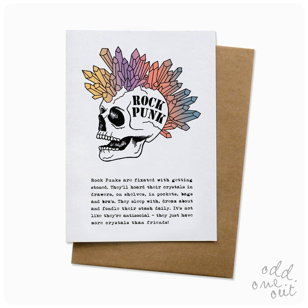 Image of Rock Punk - Greeting Card