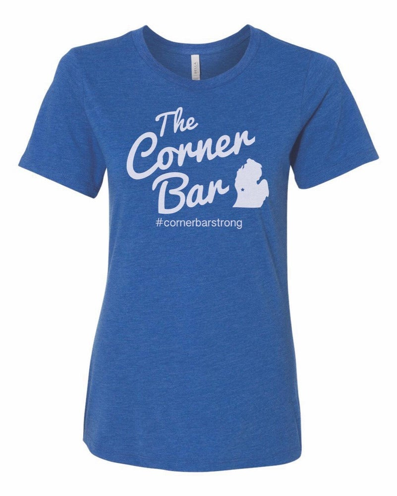 Image of The Original - Women's short sleeve blue t-shirt