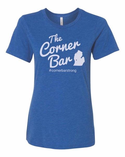Image of The Original - Women's short sleeve blue t-shirt