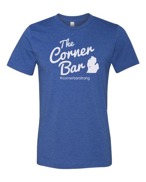 Image of The Original - Men's short sleeve blue t-shirt