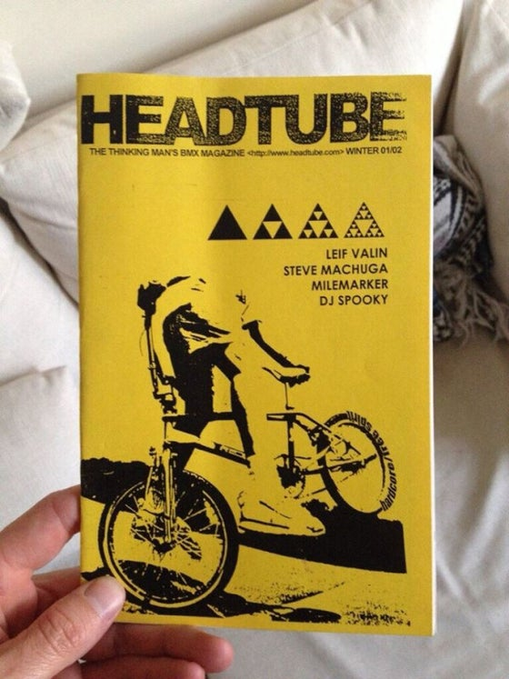Image of HEADTUBE BMX zine