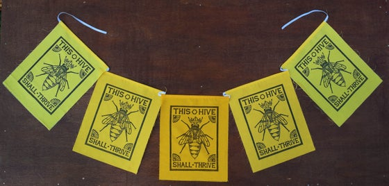 Image of Bee Flags