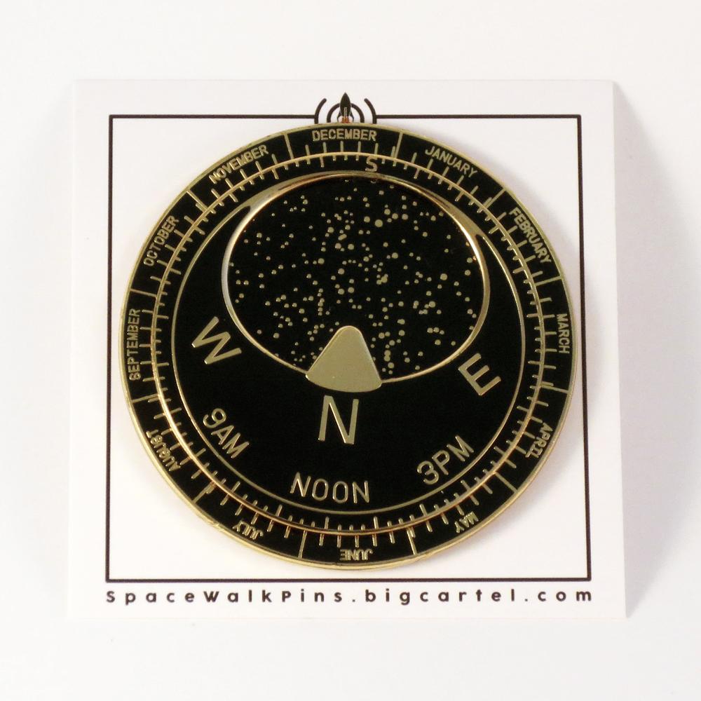 Image of Planisphere Pin