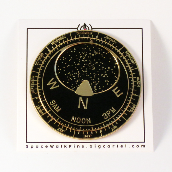 Image of Planisphere Pin