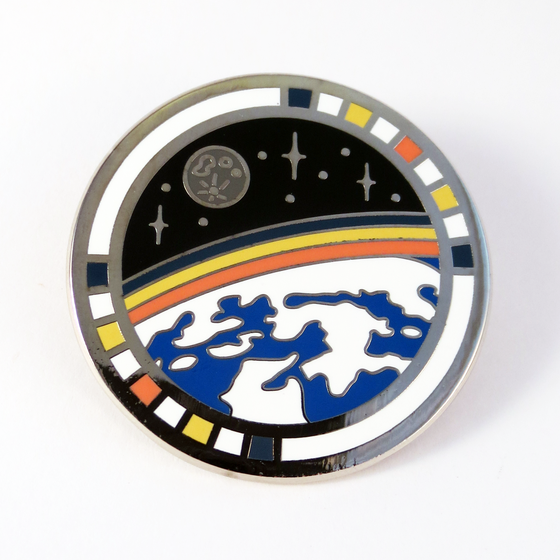 Image of Moon View Pin