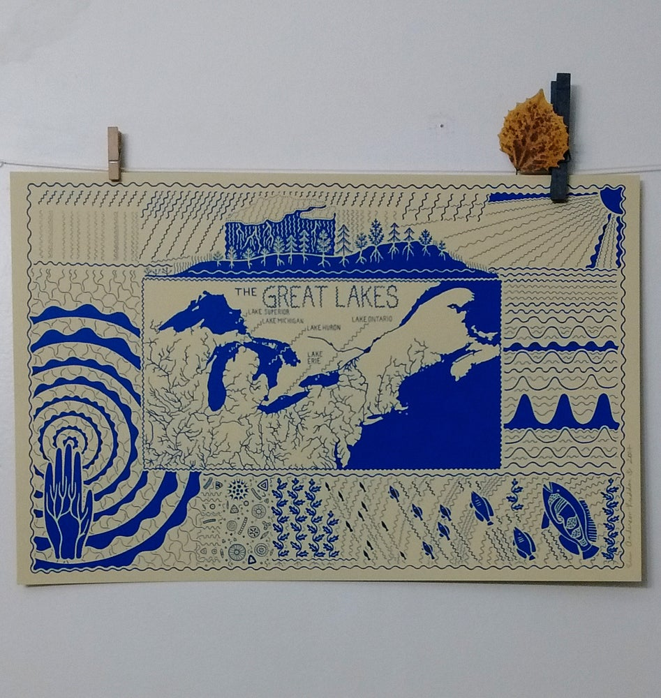 Image of Great Lakes Print