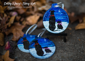 Image of Limited Edition 2017 Starry Night Christmas Ornament