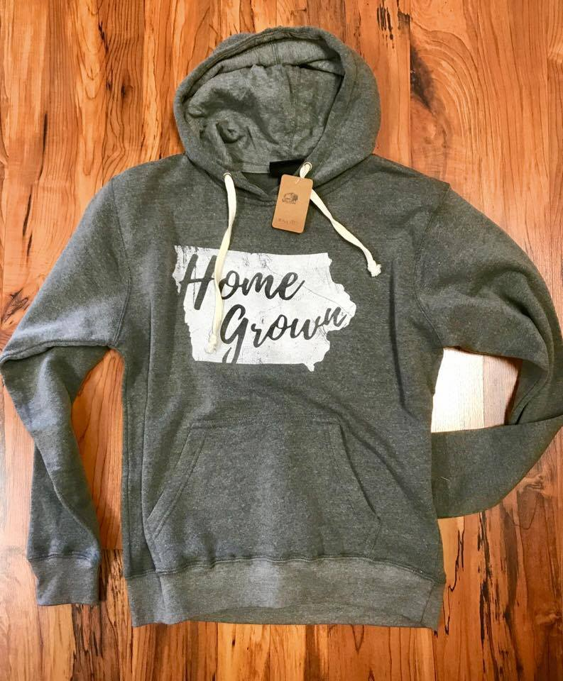 Image of Vintage Home Grown Iowa Hoodie