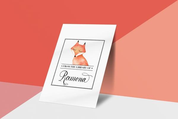 Image of Custom Children's Bookplates
