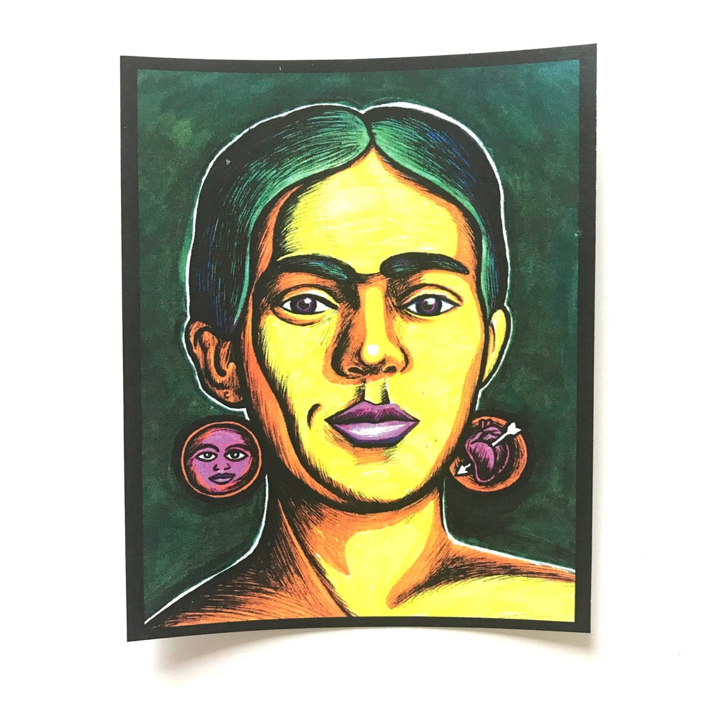 Image of Frida Kahlo Sticker
