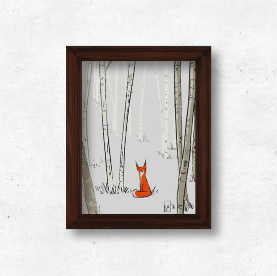 Image of Fox in the Woods
