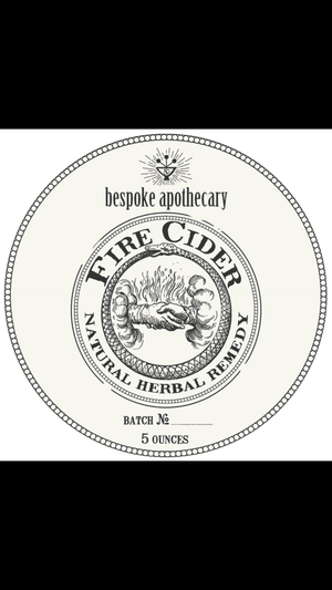 Image of 5 oz. Organic FIRE CIDER!!!!