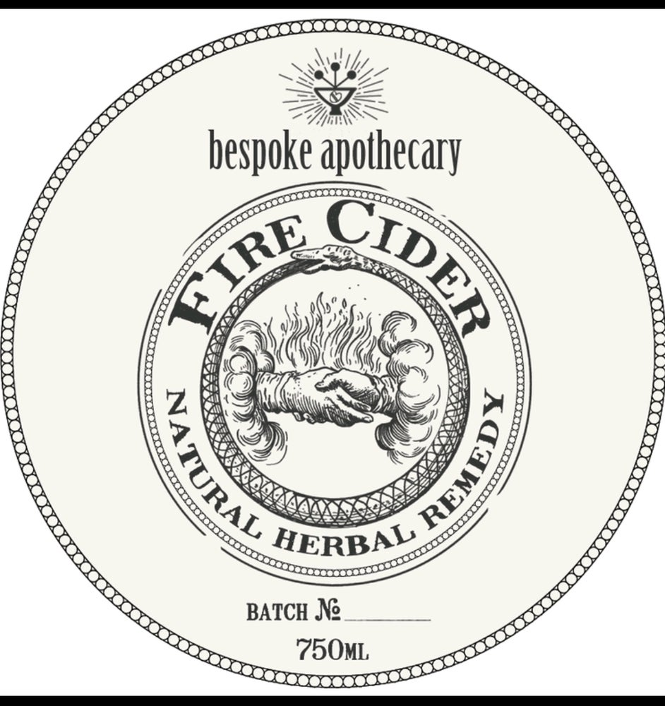 Image of Email instructions to get on the list, below - 🔥 Large/750 ML/25.5 oz. Organic FIRE CIDER!!