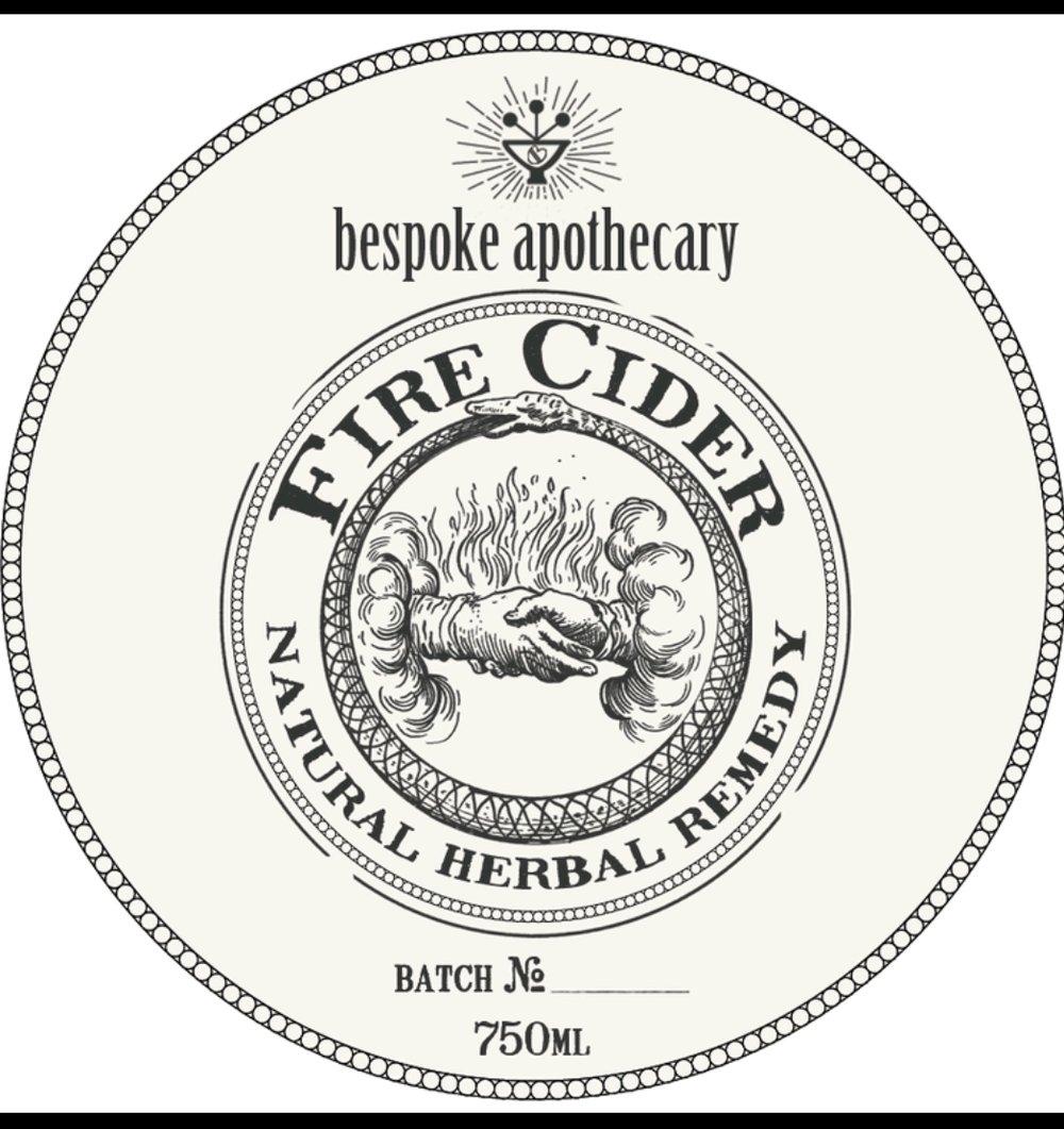 🔥 Large/750 ML/25.5 oz. Organic FIRE CIDER!!