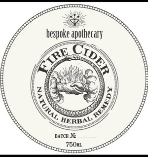 Image of WOW!  Large/750 ML/25.3 oz. Organic FIRE CIDER!!