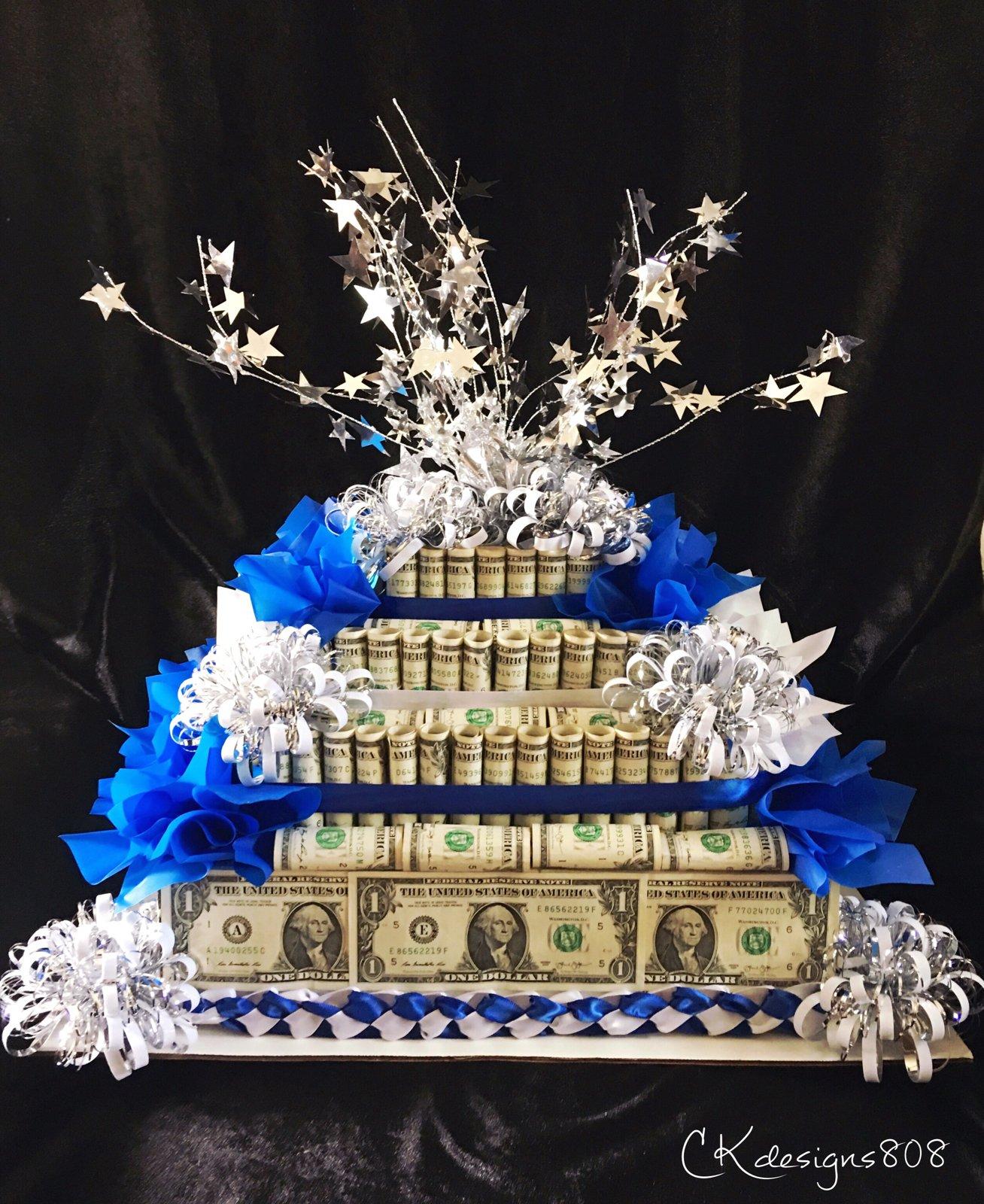 Image of MONEY LEIS, MONEY CROWNS, MONEY CAKES