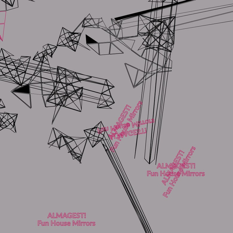 Image of ALMAGEST! - Fun House Mirrors LP [ltd.100 COLOURED Vinyl]