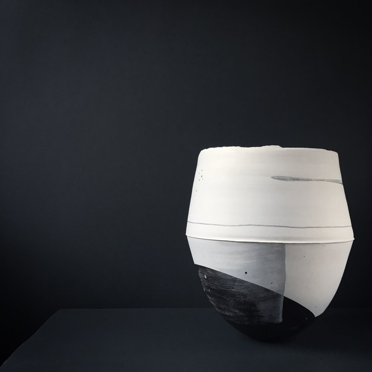 Image of Large Print Vessel by Hannah Tounsend