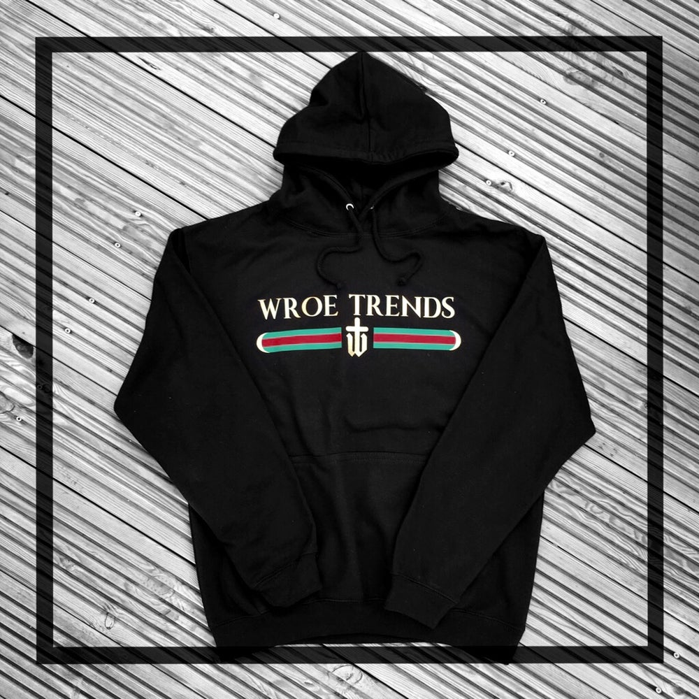 Image of INSPIRED HOODIE • BLACK